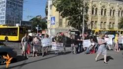 Киевта Донецки качаклары хакимияттән ярдәм сорый