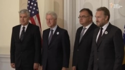Clinton u Predsjedništvu BiH