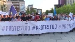 Sërish protestë kundër Lumezit