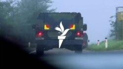 Отстранување на барикадите на границата меѓу Косово и Србија