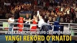 Ўзбек боксчилари Осиё чемпионатини 9 олтин медаль билан якунладилар
