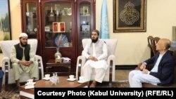 محمد اشرف غیرت رئیس نو پوهنتون کابل