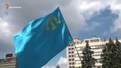 В Запорожье почтили память жертв депортации крымских татар (видео)