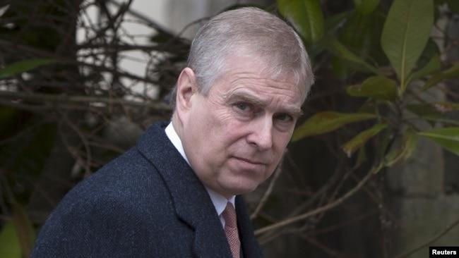 Принц Эндрю, младший сын британской королевы Елизаветы Второй.