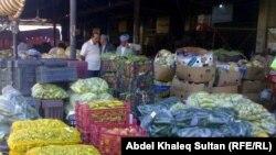 سوق خضروات في دهوك