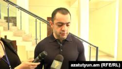 Сын Александра Саргсяна Айк Саргсян, Ереван, 11 апреля 2019 г.
