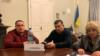 Лідери профспілок гірників у Львівській облдержадміністрації, 21 січня 2020 року