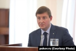 Pskov Governer Andrei Turchak