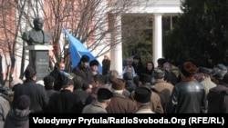 Під час мітингу