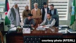 امضای توافقنامه ساخت بند شاخ قند در لوگر