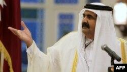 شیح حمد بن خلیفه آل ثانی، امیر قطر.