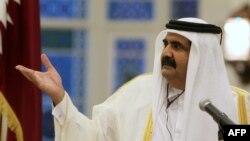 Катарскиот емир, Шеик Хамад бин Калифа Ал Тани.