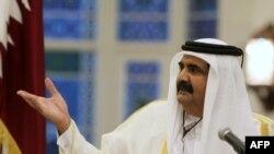 شیخ حمد بن خلیفه آل ثانی امیر قطر