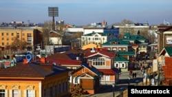 Иркутск, вид города