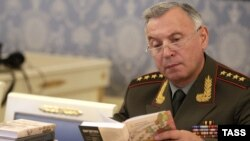 Russia's chief of general staff, Nikolai Makarov