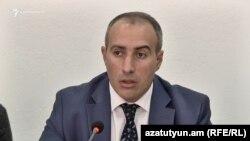 Արդարադատության փոխնախարար Սուրեն Քրմոյան