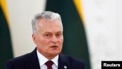 Președintele Lituaniei, Gitanas Nauseda