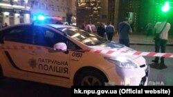 Место нападения в Харькове