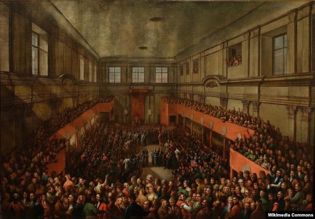 Ухваленьне Канстытуцыі 3 траўня 1791 г. Казімеж Вайнякоўскі, 1806