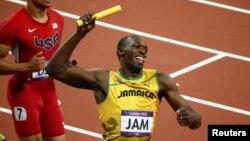 Олимпийская победа Усейна Болта, шестикратного олимпийского чемпиона