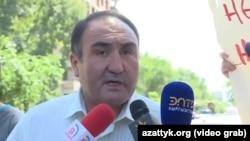 Вице-мэр Бишкека Бакыт Дюшембиев.