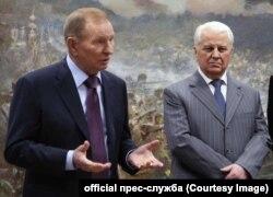 Леонід Кучма і Леонід Кравчук, архівне фото