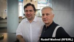 Артур и Вадим, активисты киевского общества филателистов