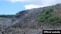 Грибовицьке сміттєзвалище (фото ДСНС)