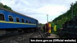 Аварія на станції Нігин 27 травня