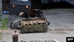 Пронајденото оружје кај Радуша кога во престрелка со полицијата беа убиени четири лица