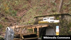 """""""One particularly appalling killing site was the St. Barbara Tunnel near Huda Jama, where meticulous efforts to cover up the crime afterward were successful for over 60 years. The grim remains of hundreds of victims were uncovered only in 2008."""""""