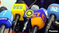 Armenia -- Broadcast media microphones, undated