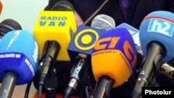 Armenia -- Broadcast media microphones, undated