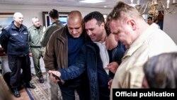 """Премиерите Бојко Борисов и Зоран Заев пред неколку дена го посетија американскиот носач на авиони """"Хари С. Труман"""""""