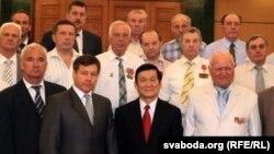 Беларуская дэлегацыя ў Віетнаме