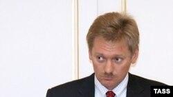 ديميتری پسکوو، سخنگوی ولادمير پوتين، نخست وزير روسيه. (عکس:ITAR/TASS)