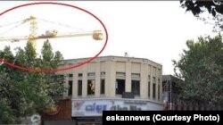 تصویری که اجرایی شدن ساخت این هتل منتشر شده است