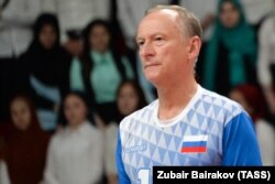 Секретарь Совбеза РФ Николай Патрушев, с визитом которого в Аргентину теперь связано столько вопросов, любит играть в волейбол