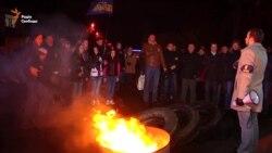 Вшанувати річницю пам'яті постраждалих на Майдані зібралися на полтавському віче (відео)