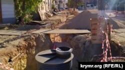 Ремонт комунікацій на вулиці Великій Морській
