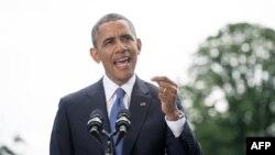 ԱՄՆ - Նախագահ Բարաք Օբաման հայտարարությամբ է հանդես գալիս Իրաքում իրավիճակի վերաբերյալ, Վաշինգտոն, 13-ը հունիսի, 2014թ․
