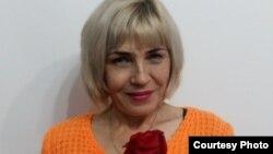 ВИЧ дертіне шалдыққан ерікті Наталья Минаева. (Фото оның жеке мұрағатынан алынған.)