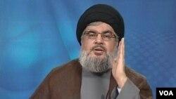 حسن نصرالله، رهبر حزبالله لبنان،