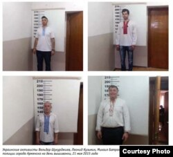 Кримські активісти, яких затримали в День народження Тараса Шевченка. Фрагмент зі звіту Кримської правозахисної групи