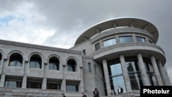 Amenia - A new building of Mesrop Mashtots Institute of Ancient Manuscripts inaugurated on September 20, 20Sep2011.