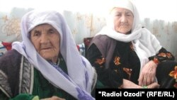 Бадан Исматова с дочерью