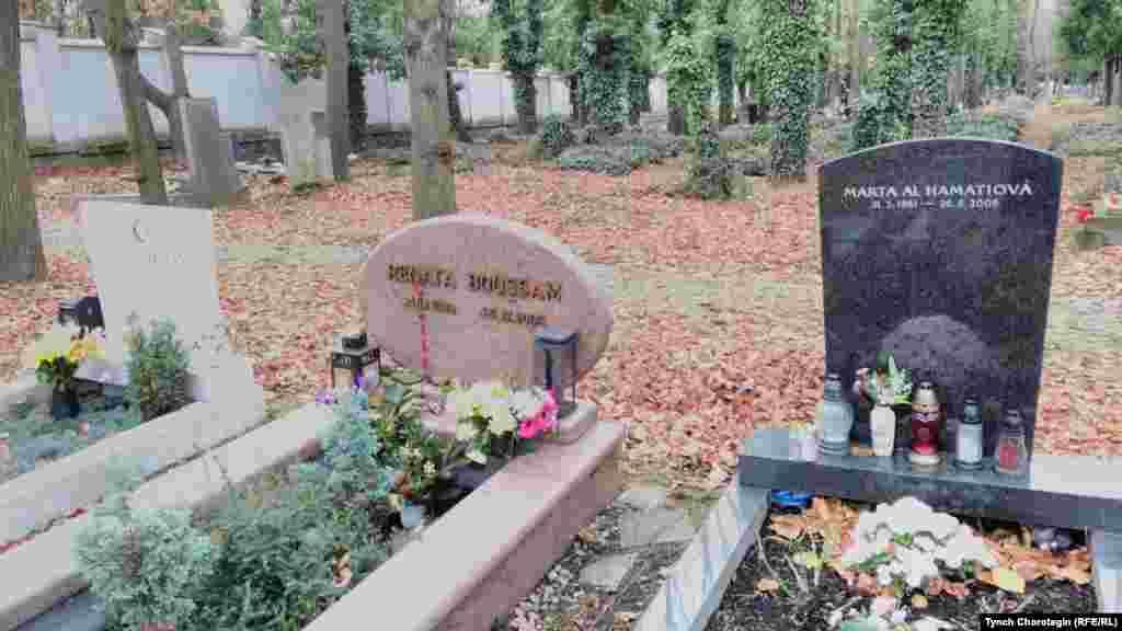 Чехиянын борбору Прагадагы Олшанска көрүстөнүндө. 28.11.2017.