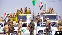 متطوعون للقتال في صفوف الجيش العراقي