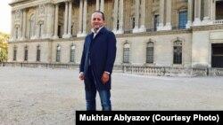 Живущий во Франции бывший банкир Мухтар Аблязов. Париж, конец ноября 2017 года.