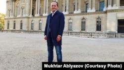 Проживающий во Франции бывший банкир Мухтар Аблязов. Париж, конец ноября 2017 года.